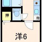 6帖タイプ間取り(間取)